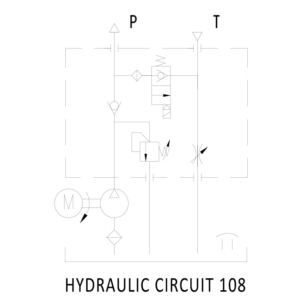 PT Power Pack Hydraulic Circuit