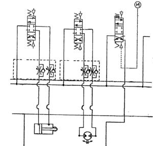 hydraulic manifold Block schematics