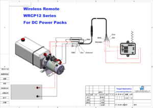 How to wire wireless Remote with Dump Trailer