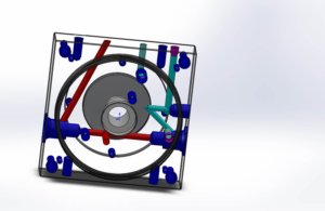 hydraulic block design with solidworks 3d drawing