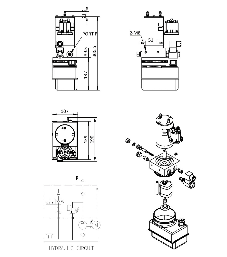 Hydraulic Lift Schematic : Hydraulic lift wiring diagram images