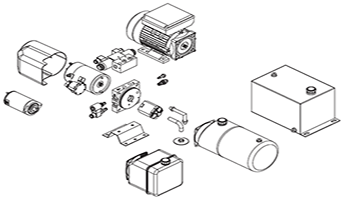 Hydraulic Components-Hydraulic Power Pack Parts