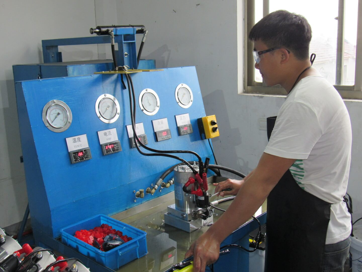 Single Acting Hydraulic Power Unit Trouble Shooting - Target Hydraulics