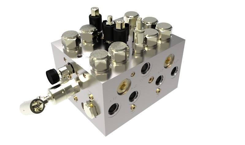 Cartridge Valve manifold system