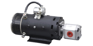 hydraulic pump and motor system