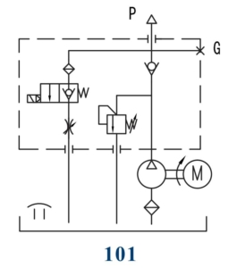lift table hydraulic power unit circuit 101 target hydraulicslift table hydraulic power unit circuit 101