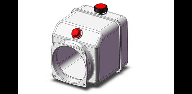 plastic hydraulic tank photo
