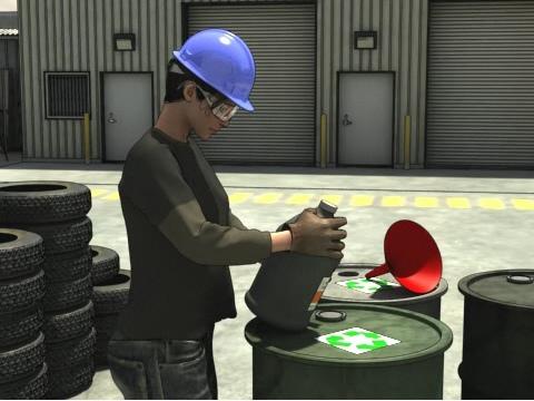 Hydraulic Fluid oil Safety