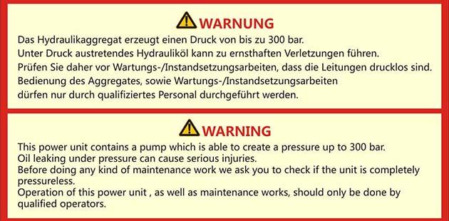 Target-warning label-1