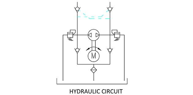 bi-directional-power-pack-hydraulic-circuit