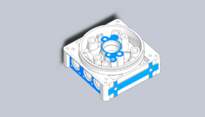 where to design die casting center manifold