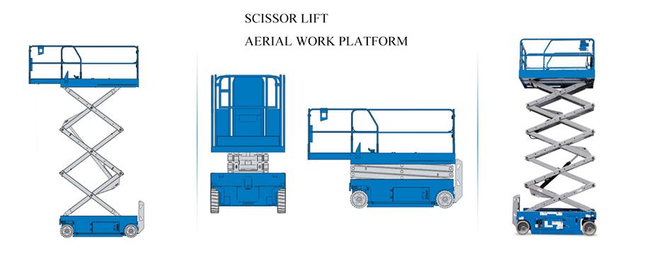 hydraulic scissor lift-hydraulic pump motor