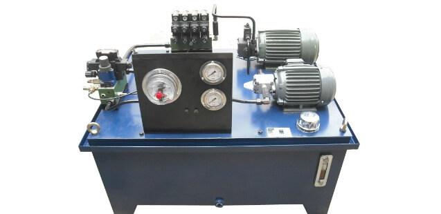 AC-hydraulic-power-unit