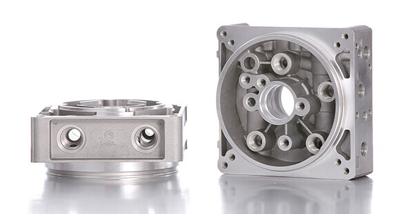 central hydraulic manifold block