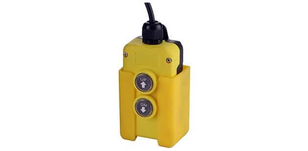 hydraulic power pack unit's push-button pendant