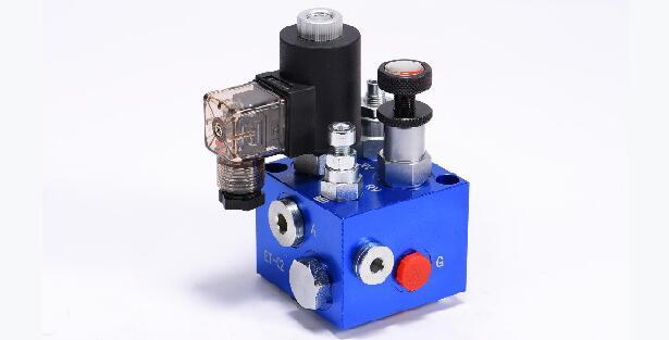 Figure 7 -hydraulic solenoid valve block