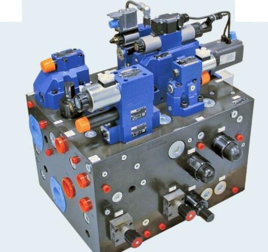 hydraulic manifold assembly with valve system