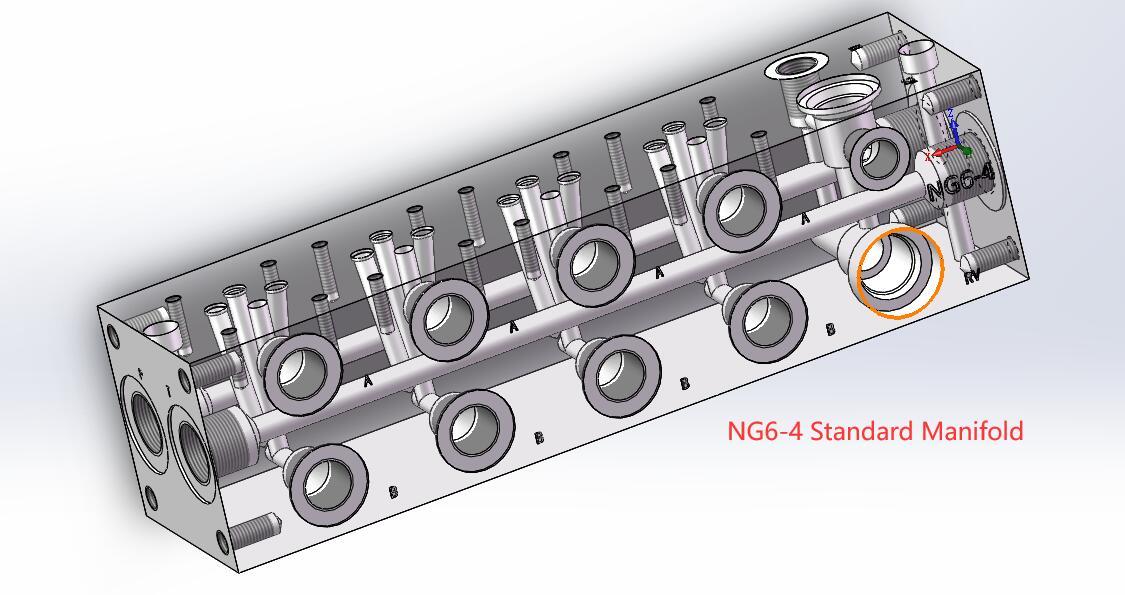 hydraulic manifold design