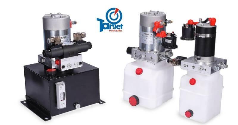 12-volt hydraulic pumps