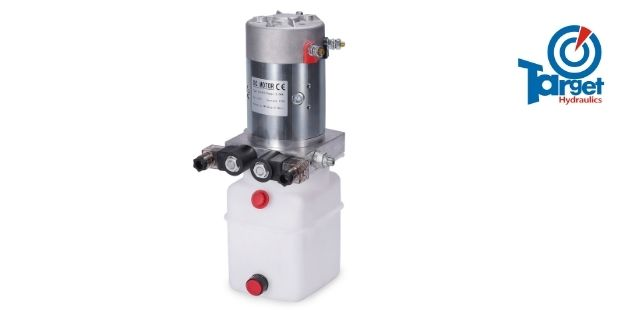 12v double acting hydraulic pump